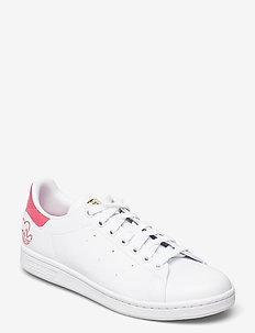 STAN SMITH W - låga sneakers - ftwwht/hazros/goldmt