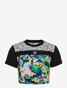 CROPPED TEE - któtkie bluzki - multco