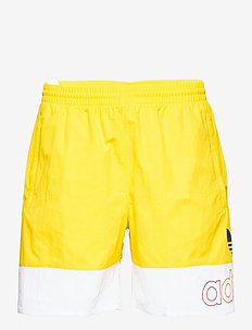 AOP FREESTYLE S - casual shorts - yellow/white