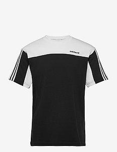 CLASSICS SS TEE - sportieve tops - black/white