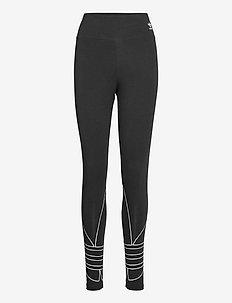 LRG LOGO TIGHTS - sportlegging en korte broek - black