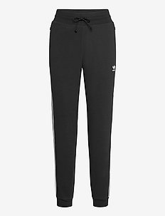 Slim Cuffed Pants W - treenihousut - black