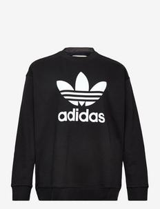 TRF CREW SWEAT - sweatshirts - black/white
