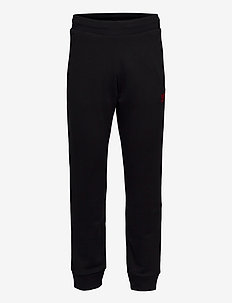 TREFOIL PANT - pantalons - black/scarle