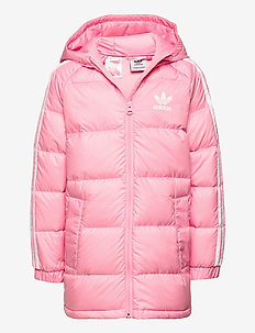 DOWN JACKET - puffer & padded - ltpink/white