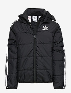 PADDED JACKET - wyściełana kurtka - black/white
