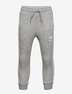 TREFOIL PANTS - spodnie dresowe - mgreyh/white