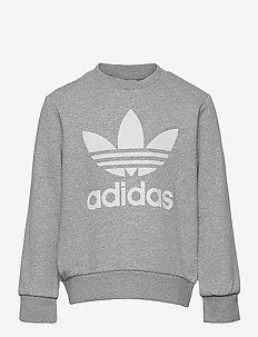 Trefoil Crew Sweatshirt - sweaters - mgreyh