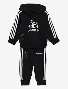 GOOFY HOODIE - trainingsanzug - black