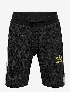 SHORTS - shorts - black/grefiv/white/se