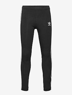 SOLID LEGGINGS - leggings - black/white