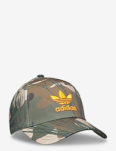 CAMO BB CAP - caps - black/hemp