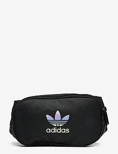 ESSENTIAL WAIST - väskor - black/mgsogr