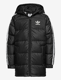 DOWN JACKET - puffer & padded - black/white
