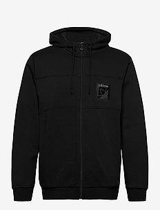 SPRT ICON FZH - sweats basiques - black