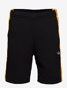 PANEL SHORT G - casual shorts - black