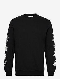 GOOFY CREW - sweats basiques - black