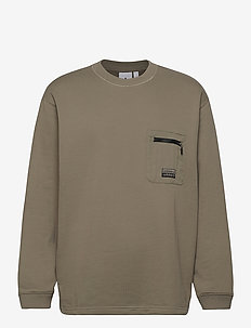 D SWEATSHIRT - góry - clay