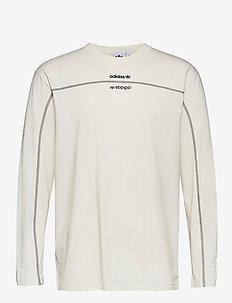 F LS - langarmshirts - owhite