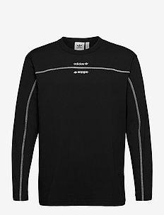 F LS - langarmshirts - black