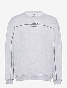 F CREW - sweatshirts - lgreyh