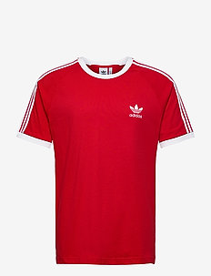 3-STRIPES TEE - sports tops - scarle