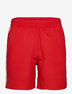 3 STRIPE SWIMS - swim shorts - scarle