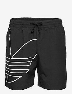 BG TF OUT SWIMS - swim shorts - black/white