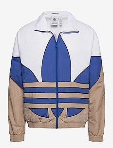 B TF OUT WVN TT - vestes de sport - white/royblu/trakha/b