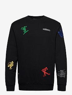 GOOFY CREW - sweatshirts - black