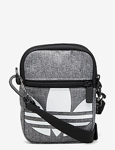 FEST BAG TREF - vesker - black/white
