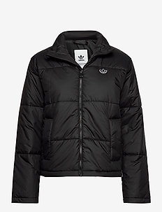 SHORT PUFFER - isolerande jackor - black