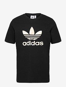 Camo Trefoil T-Shirt - t-shirts - black/alumin/multco