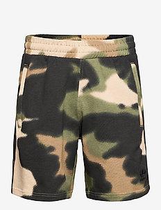 Camo 3-Stripes Shorts - casual shorts - wilpin/multco/black