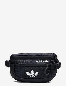 Adventure Waist Bag Small - saszetka nerki - black/white