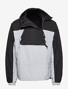 Adventure Mishmash Blocked Shell Jacket - anorakit - black/halsil