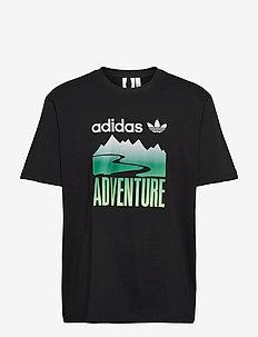 Adventure Mountain Logo T-Shirt - t-shirts - black