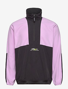 Adventure Polar Fleece Colorblock Half-Zip Jacket - podstawowe bluzy - clelil/black
