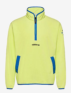Adventure Polar Fleece Half-Zip Sweatshirt - basic sweatshirts - sefrye