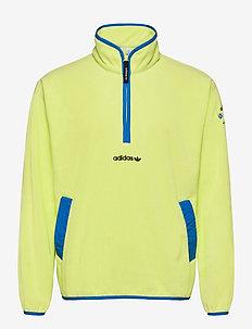 Adventure Polar Fleece Half-Zip Sweatshirt - basic-sweatshirts - sefrye