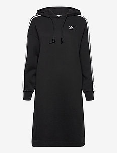 Adicolor Classics Hoodie Dress W - sports dresses - black