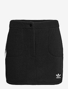 Adicolor Classics Polar Fleece Skirt W - rokjes - black