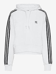 Adicolor Classics Crop Hoodie W - hoodies - white