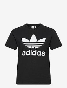 Adicolor Classics Trefoil T-Shirt W - sportstoppe - black