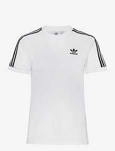 Adicolor Classics 3-Stripes T-Shirt W - sports tops - white
