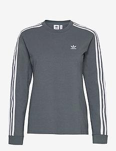 Adicolor Classics Long Sleeve T-Shirt W - langærmede toppe - bluoxi
