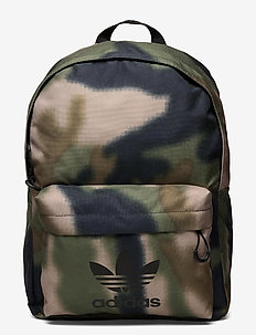 Camo Classic Backpack - sportsbagger - hemp/wilpin/black