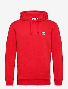 ESSENTIAL HOODY - basic sweatshirts - scarle