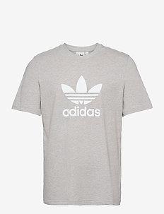 Adicolor Classics Trefoil T-Shirt - sports tops - mgreyh/white