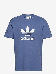 Adicolor Classics Trefoil T-Shirt - sporttoppar - creblu/white
